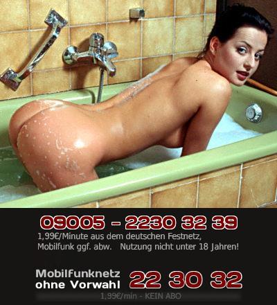 Hast Du Lust auf eine Ungarin in der Badewanne? Sie will sich erotisch einseifen, wenn Du mit Telefonsex bei ihr bist.