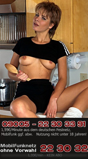 Telefonsex mit nymphonamer Hausfrau