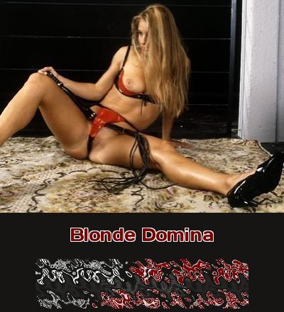 Telefonsex mit einer blonden Domina