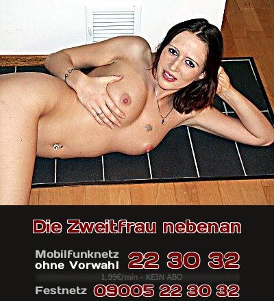 Telefonsex-Fantasie: Eine Zweitfrau mit eigener Wohnung gleich nebenan.