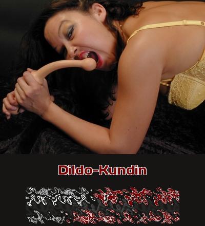 Eine Kundin will auf der Verkaufsparty gleich wissen, was das neue Dildo-Toy kann.