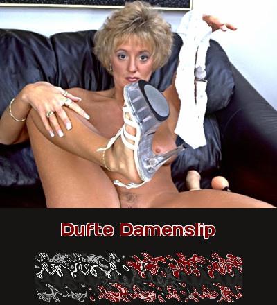 Ein Damenslip mit dem Duft der Reife.