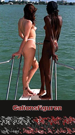 Thema für Telefonsex: Frauen lieben es, am Bug einer Yacht zu stehen und sich über die Wellen tragen zu lassen.