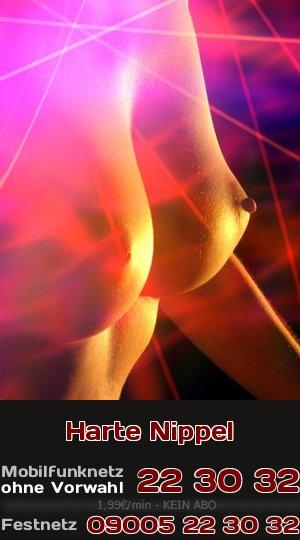Harte Nippel an festen und spitzen Titten sind Deine Fantasie beim Telefonsex.