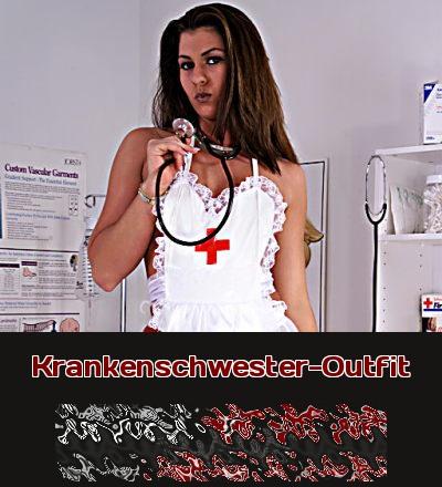 Zu Karneval wie auch bei Fetischisten, ist eine Verkleidung als Krankenschwester immer gern gesehen. Und beim Telefonsex hilft die Krankenschwester auch gern, wo sie kann!