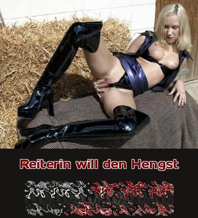 Sie ist eine Reiterin und sie liebt Pferde. Willst Du ihr den Hengst machen? Rufe an und reite sie beim Telefonsex richtig zu!