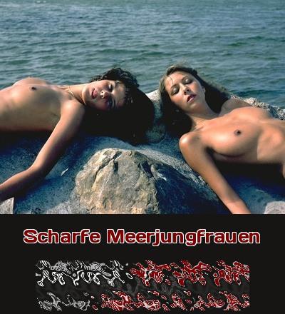 Meerjungfrauen am Strand oder einfach nur scharfe Bräute in Urlaubsstimmung?