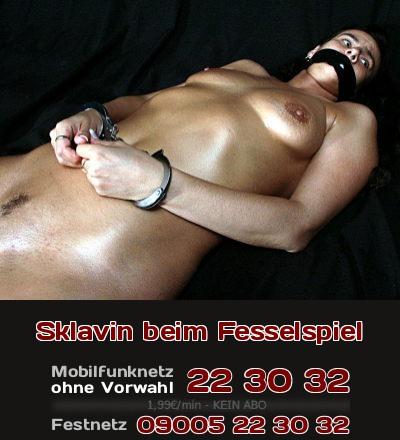 Sex-Sklavin beim Telefonsex