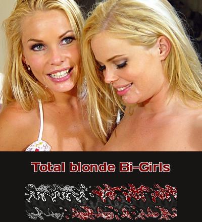 Telefonsex mit extrem blonden Bi-Girls