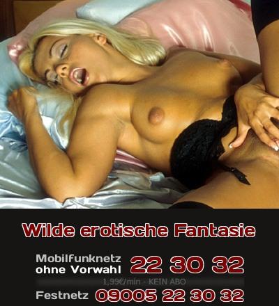 Eine fremde Frau will Dir beim Telefonsex von ihren wilden erotischen Fantasien, erzählen, die sie gern in der Wirklichkeit ausleben will und von denen Sie immer wieder träumt.