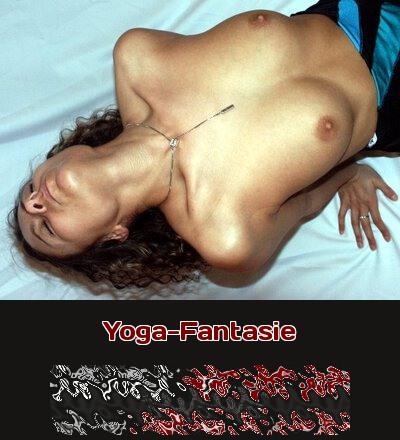 Telefonsex mit Yoga als Fantasie, in der sich Frauen extrem verbiegen.